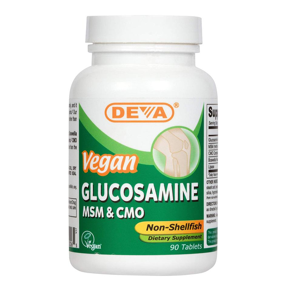 Deva - Vegan Glucosamine MSM & CMO-90 Capsules   Summit
